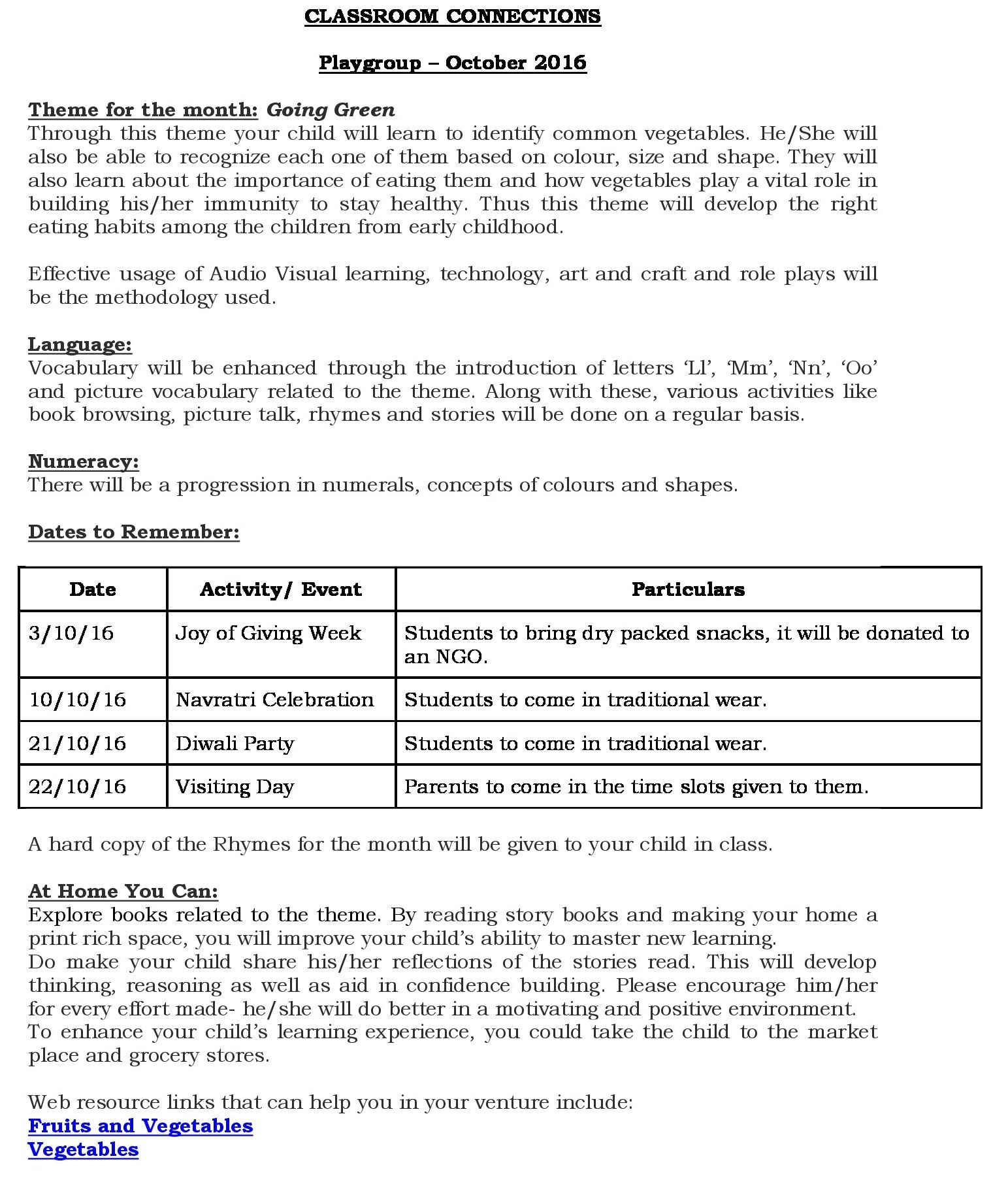 unit 5 classroom connections